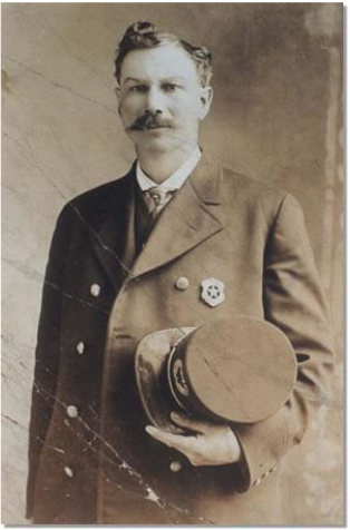 Chief of Police Frank Dustman