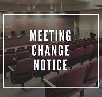 Meeting Change Notice