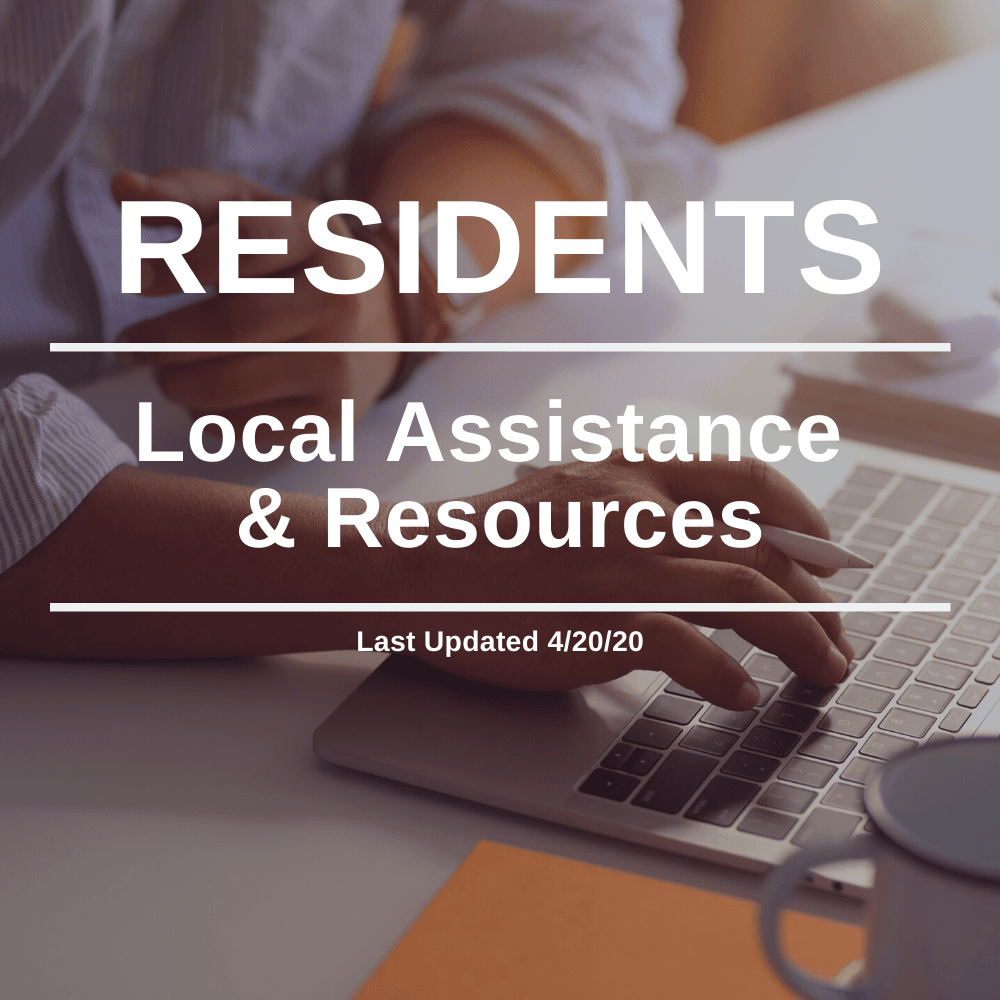Residents - Local Assistance 4-20-20