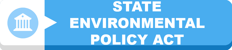 State Environmental Policy Act Button