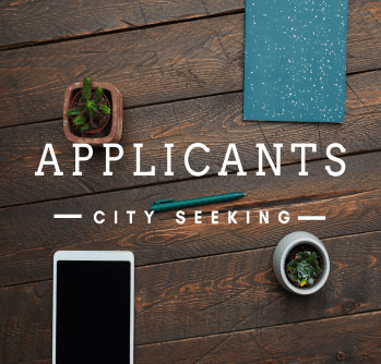 City Seeking Applicant II