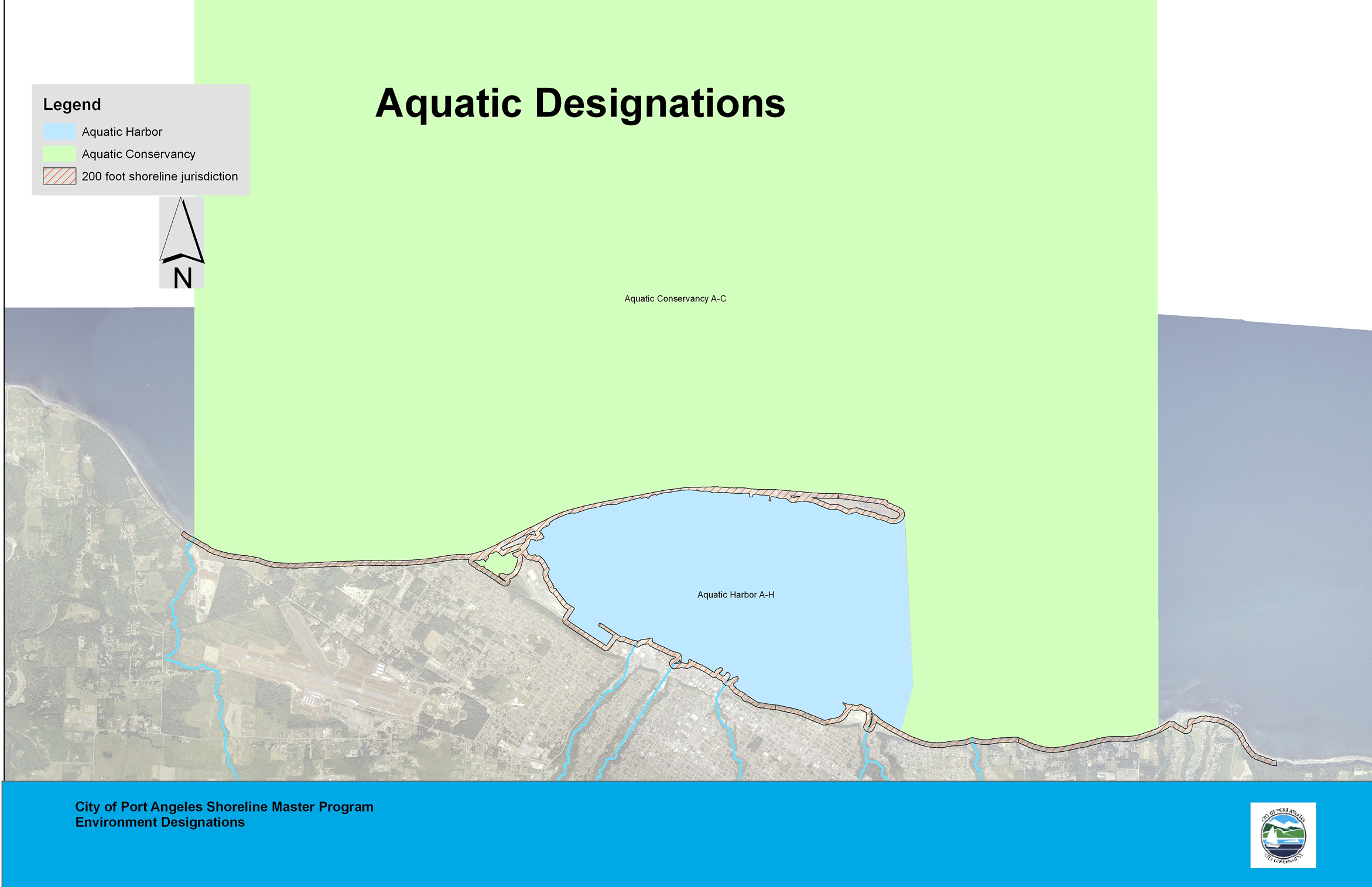 Aquatic Designations Map