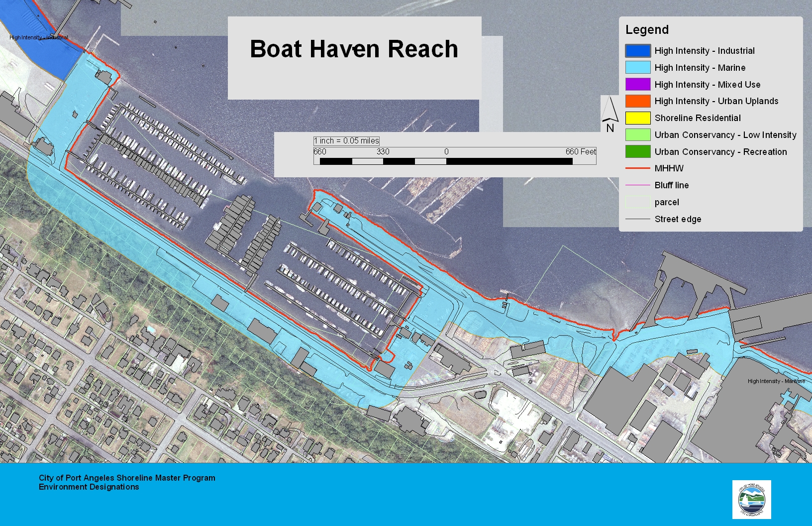 Boat Haven Reach Map