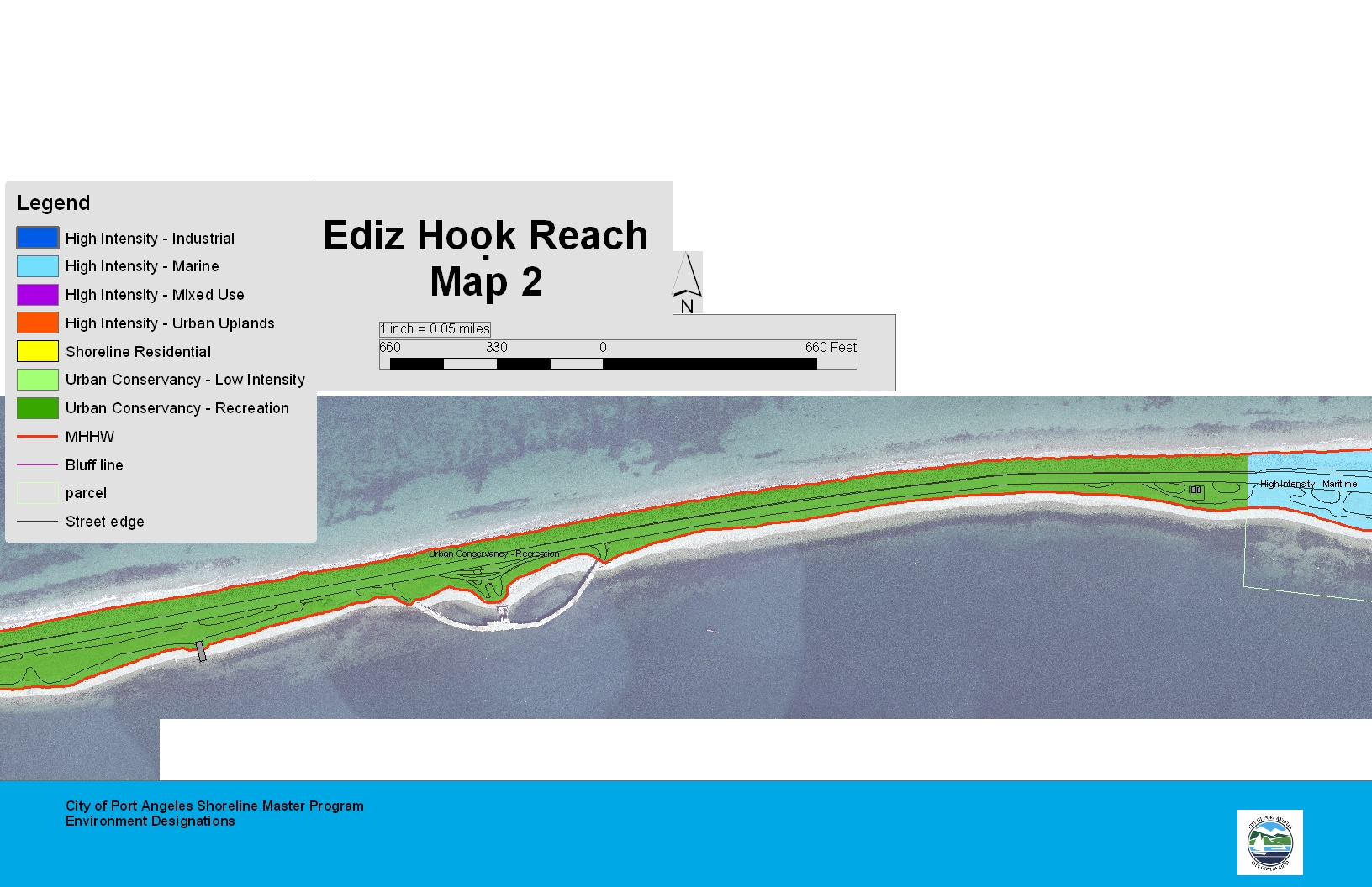 Ediz Hook Reach Map 2