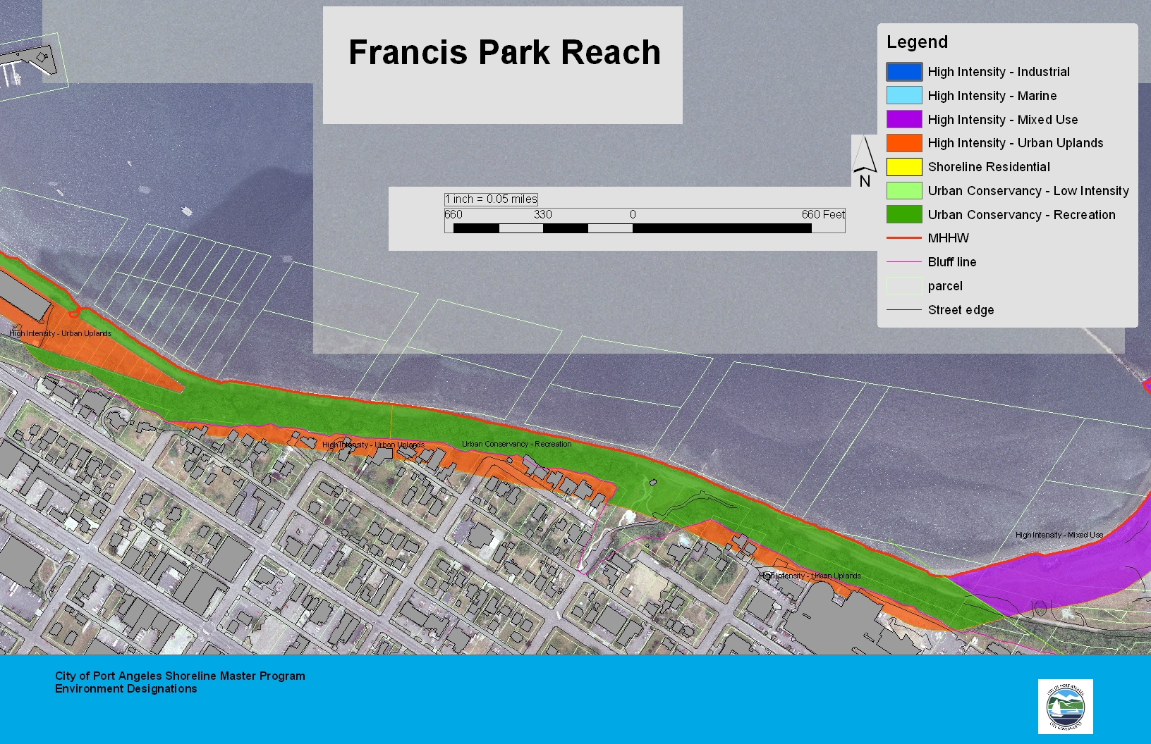 Francis Park Reach Map