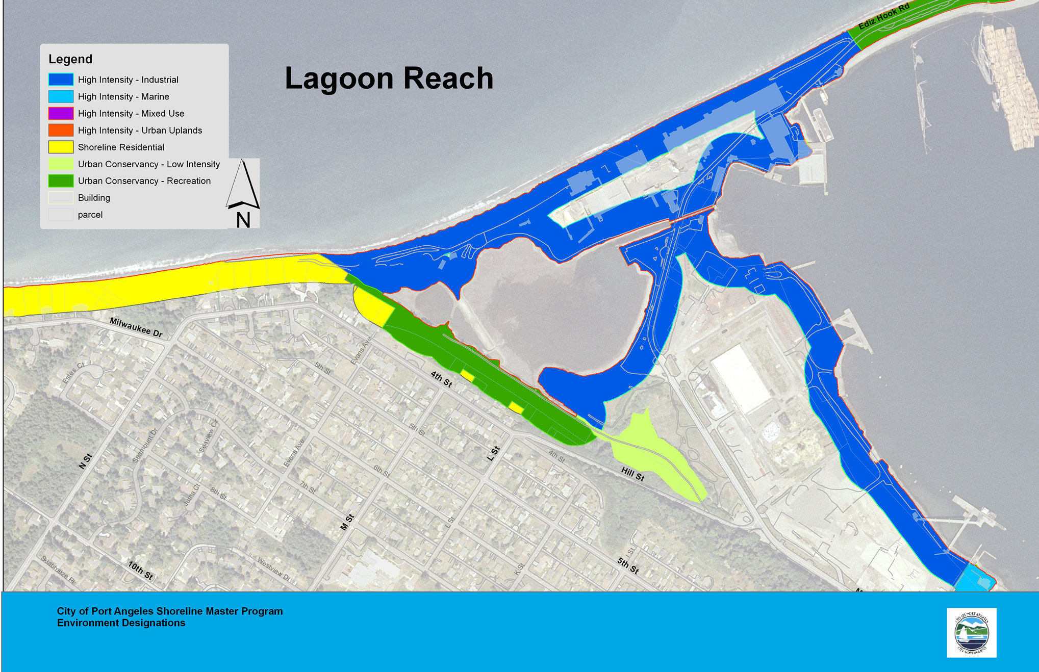 Lagoon Reach Map