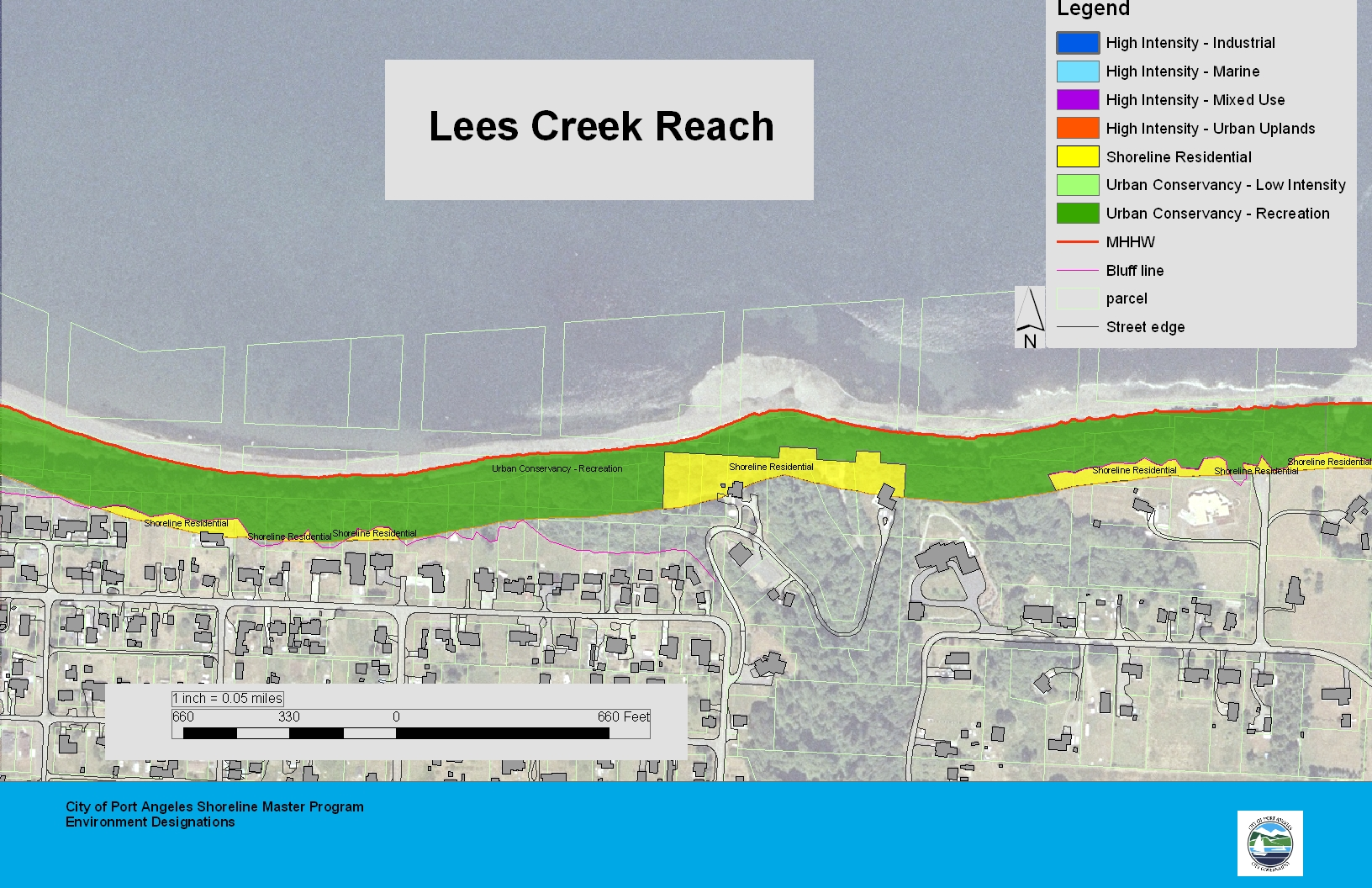 Lees Creek Reach Map
